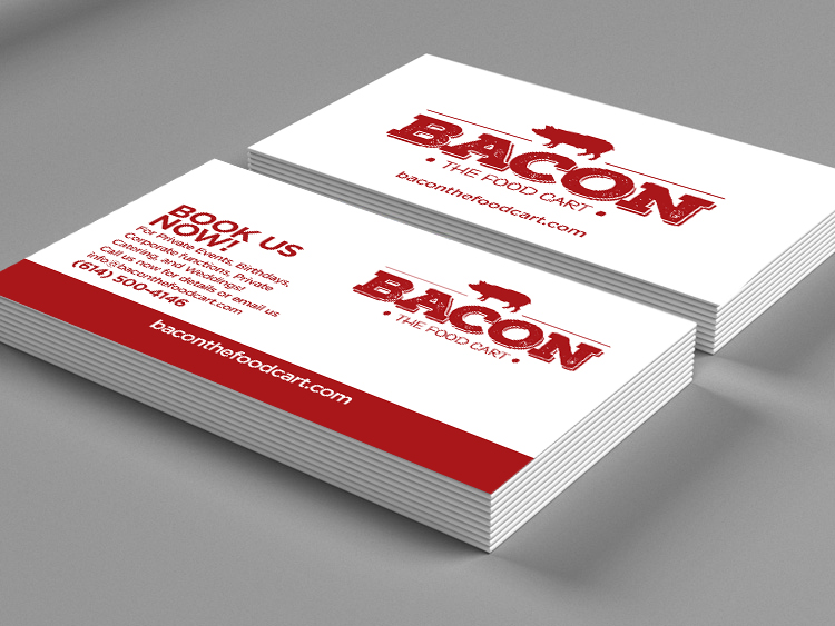 Bacon The Food Cart Business Cards