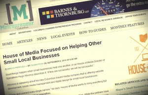 House of Media Featured in The Metropreneur